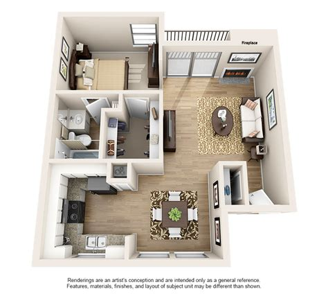 bedroom layouts  rent dawntree apartment homes