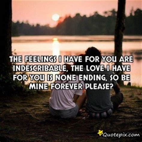 Can You Be Mine Forever Quotes