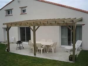 Construire Pergola Bois : idee de pergola en bois ides ~ Preciouscoupons.com Idées de Décoration