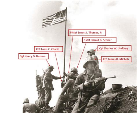 Marines Misidentified In Yet Another Iwo Jima Photo From