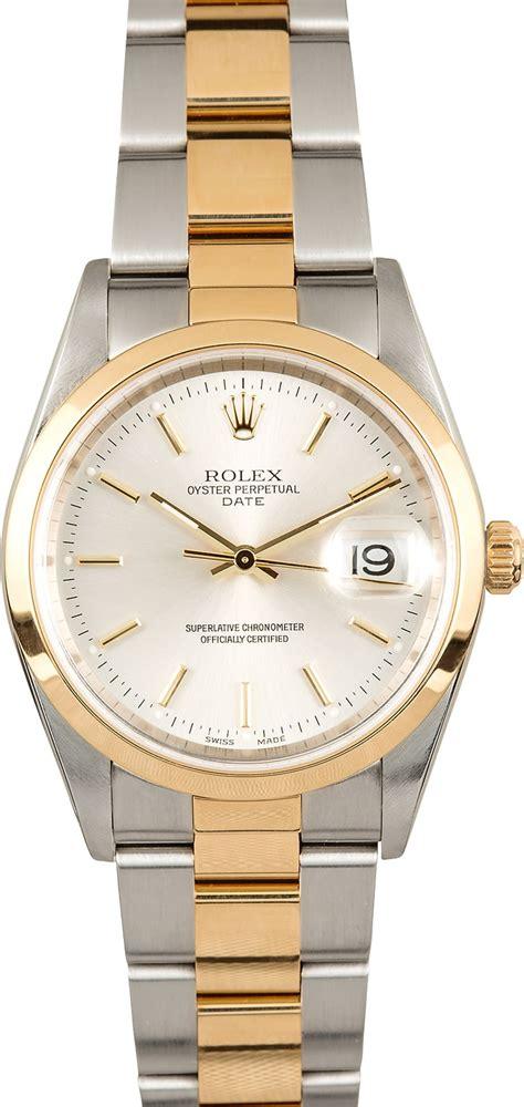 Rolex Date 15203 Silver Dial