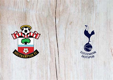 Southampton vs Tottenham Hotspur Full Match & Highlights ...