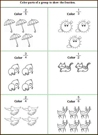 patterns  fractions worksheets  patterns