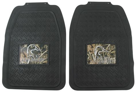 ducks unlimited all weather floor mats with camouflage