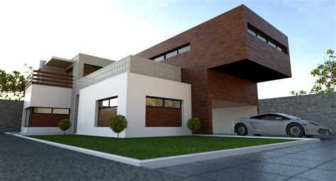 Blender Architecture Exterior Home