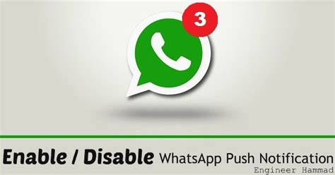 fix whats app push notification problems  android  iphone