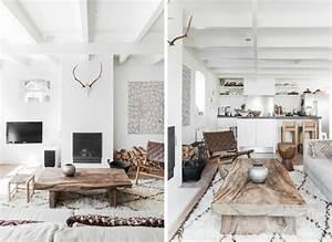 Une Maison De Famille Au Style Scandinave Rustique