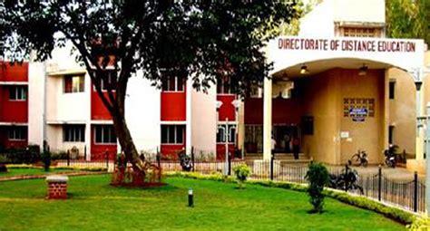 directorate  distance education pondicherry university