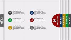 Animated Folded Powerpoint Templates