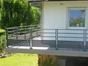 Garde Corps Terrasse Aluminium : pose de garde corps en aluminium barreaudage sur terrasses et balcons en alsace strasbourg ~ Melissatoandfro.com Idées de Décoration