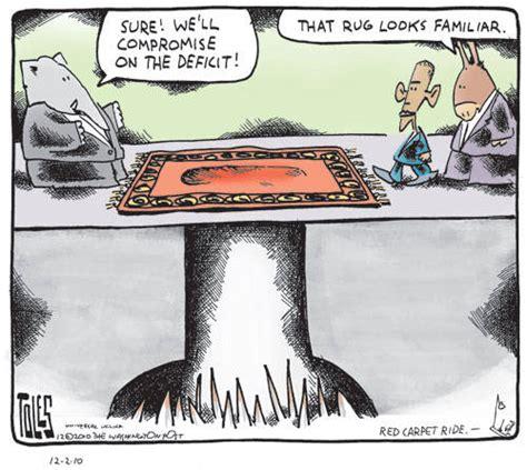 political roast funny political cartoons tax cuts