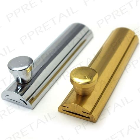sliding cabinet door lock quality slide cabinet bolt 63mm brass chrome cupboard