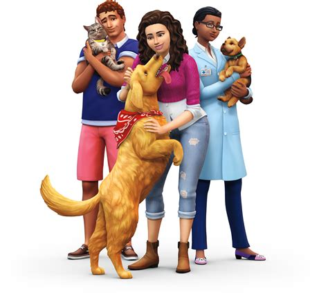 sims  cats dogs expansion official logo box art