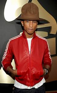 The many faces of Pharrell Williams' Grammys hat