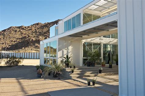jetson green  container house  mojave desert