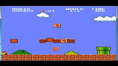 Juega gratis a los mejores juegos antiguos totalmente online y sin esperas. episodio 1 de juegos antiguos:Mario - YouTube