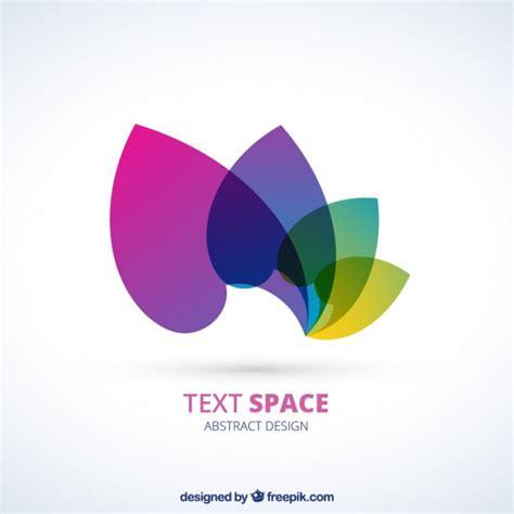 Logo With Colorful Petals Vector