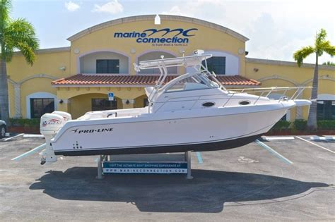 Used Proline Boats by Sold Used Pro Line Boats In West Palm Vero
