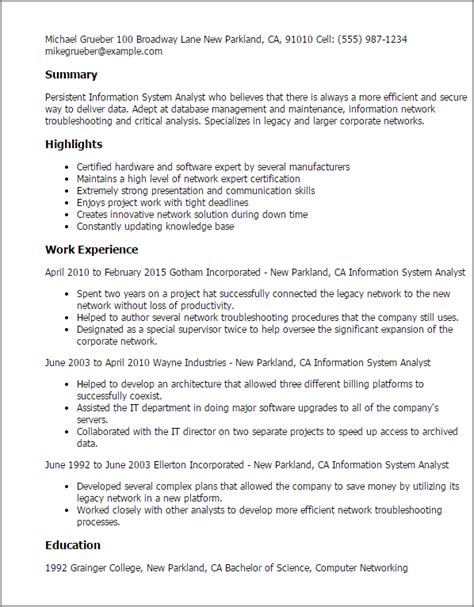 Business Analyst Entry Level Resume by Entry Level Business Analyst Resume Template Business