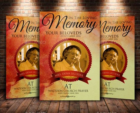 funeral flyers  psd indesign ai ms word