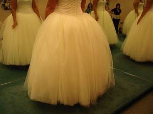 bustle for tulle dress weddingbee With bustle tulle wedding dress