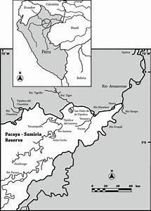 Map Of The Pacaya