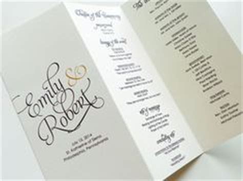 byron printable wedding order  service template