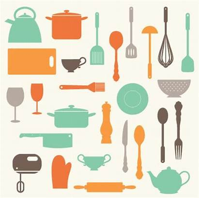 Kitchen Clip Utensils Clipart Baking Personal Commercial