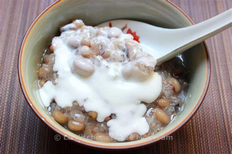entremets aux cornilles et riz gluant ch 232 đậu trắng la kitchenette de miss t 226 mla