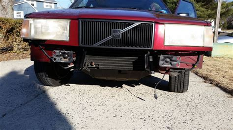 volvo  base front bumper replacement volvo