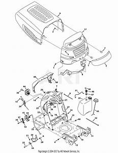 Mtd 13ao785t058  2012   M19546  2012  Parts Diagram For Hood  U0026 Grille
