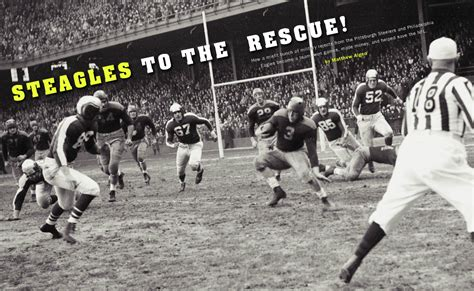 steagles played football  wwii shorted  steelers