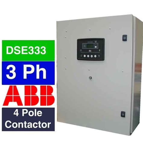 3 phase generator automatic transfer switch for commercial and industrial power supply