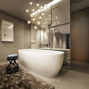 excellent une with lapeyre luminaire salle de bain With carrelage adhesif salle de bain avec ampoule lustre led