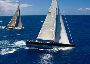 Perini Navi P2 - Sailing in the Caribbean at a yacht ...