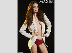 Lydia Hearst strips to underwear in photo shoot for Maxim