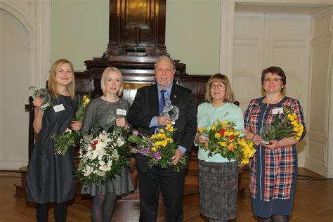 Pasniegtas Ekselences balvas Latvijas skolotājiem - Jelgavas Valsts ģimnāzija