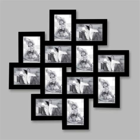 cadre photo mural pas cher emd 233 cadre photo 12 vues noir pm164nc65 0 pas cher achat vente albums photos rueducommerce