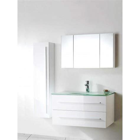meuble simple vasque en verre salle de bain desig achat