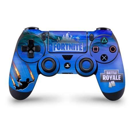 stormy sky  flame trails ps controller skin