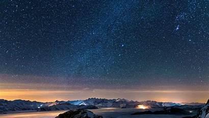 Sky Night Background Wallpapers Starry Desktop 1080p