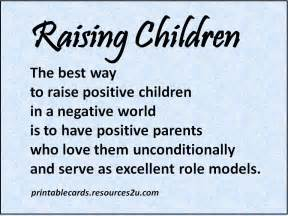 quotes poems sayings raising childen