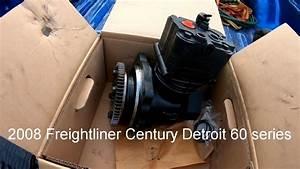 Replacing Air Compressor On 2008 Frieghtliner Century