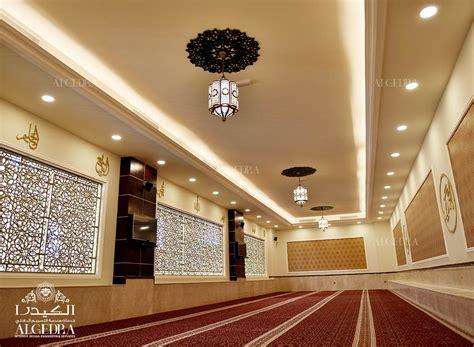 ceiling lighting design interior design for khalil al rahman mosque sharjah by algedra