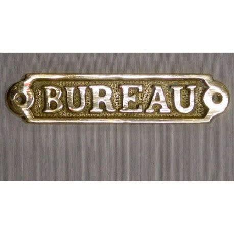 plaque bureau plaque en laiton quot bureau quot décoration marine sur luximer