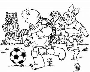 Friends Playing Pages Coloring Pages