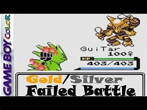 Pokemon Gold & Silver Battle Gone Wrong vs. Xenon3120 ...