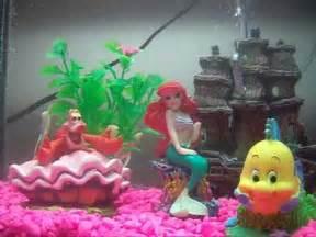 Disney Little Mermaid Fish Tank
