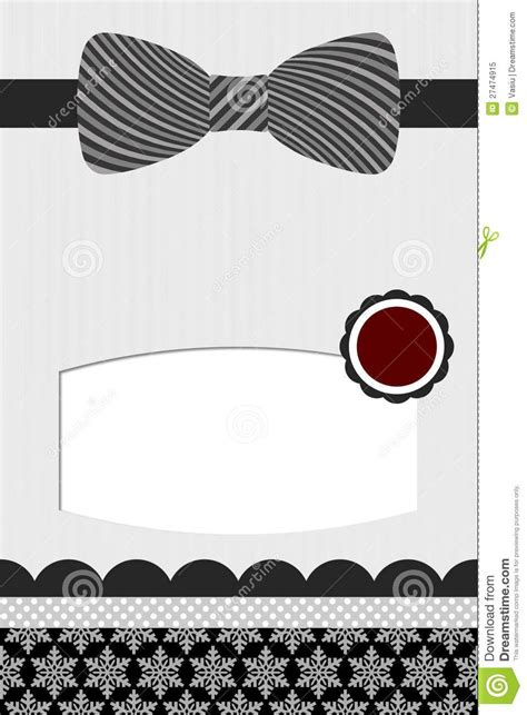 blank bow tie invitations templates google search id
