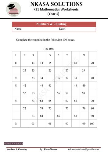 numbers counting forward and backward by nkasasolutions teaching resources tes
